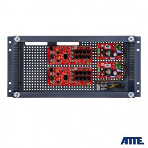 ATTE zestaw IP-16-20-R5U0 switch do 16 kamer IP, w obudowie RACK 5U ABOX-E